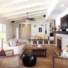 Beach Style Living Room by Roos International Ltd Inc