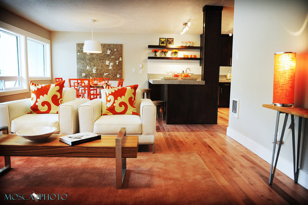Modern Living Room by Mosca Photo
