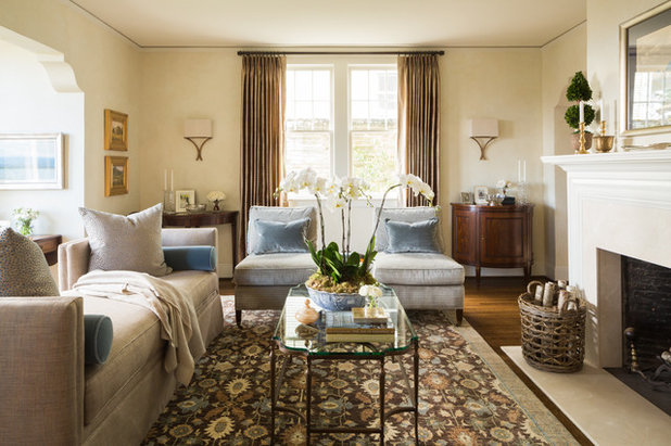 Traditional Living Room by Nifelle Design - Fine Interiors