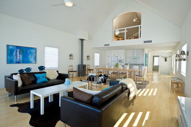 Living Room by Andrea Swan - Swan Architecture