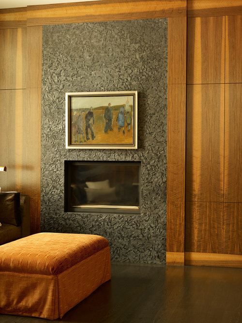 Example Of A Living Room Design In Calgary