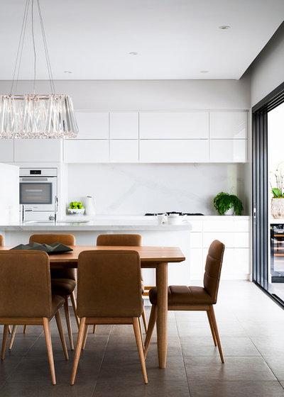Contemporary Living Room by Matthew Barnes Interior Design