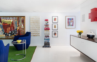 Houzz Tour: A Designer's Art Moderne Home — Emphasis on the Art