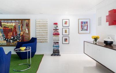 Houzz Tour: A Designer's Art Moderne Home — Emphasis on the Art