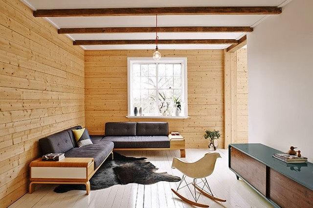 Scandinavian Living Room by MR.FRÄG