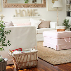 Eclectic Living Room by Sweet as a Candy