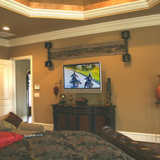 Traditional Living Room by Switch Audio Video