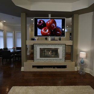 Swivel TV Room