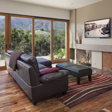 Traditional Living Room by Allen Construction