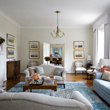 Traditional Living Room by Horton & Co. Designers