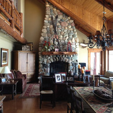 Traditional Living Room by Jyl Graves Interiors