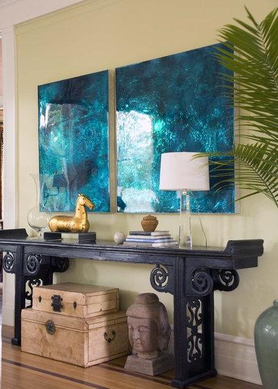 Asian Living Room by Sylvia Martin