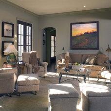 Contemporary Living Room by Sylvia Martin