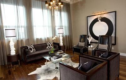 Shop Houzz Shop Houzz: Art Deco Drama For The Living Room