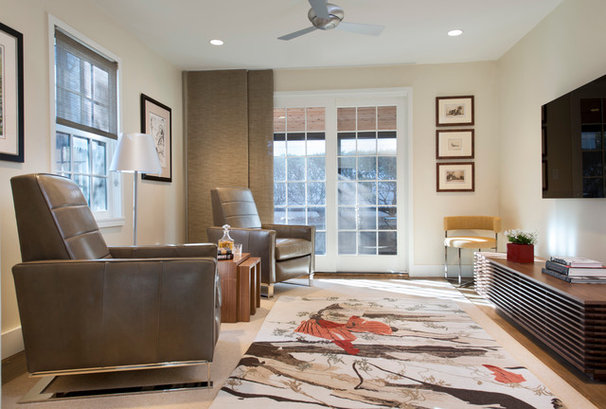 Contemporary Living Room by Kelly Taylor Interior Design