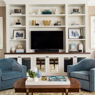 Tailored Brookline Family Room