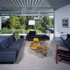 Midcentury Living Room by Kenneth Brown Design