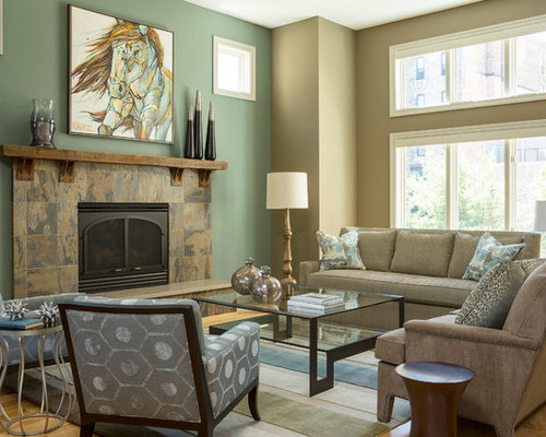 seafoam green living room slate fireplace surround houzz 13394