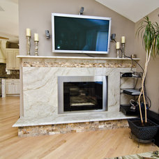 Contemporary Living Room by Granite Grannies