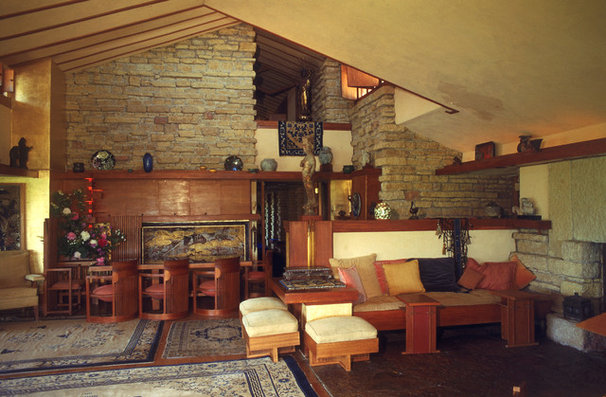 Living Room by Taliesin Preservation, Inc.
