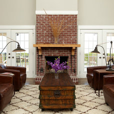Traditional Living Room by Cablik Enterprises