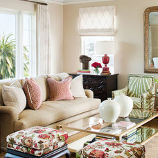 eclectic living room by Tamara Mack Design