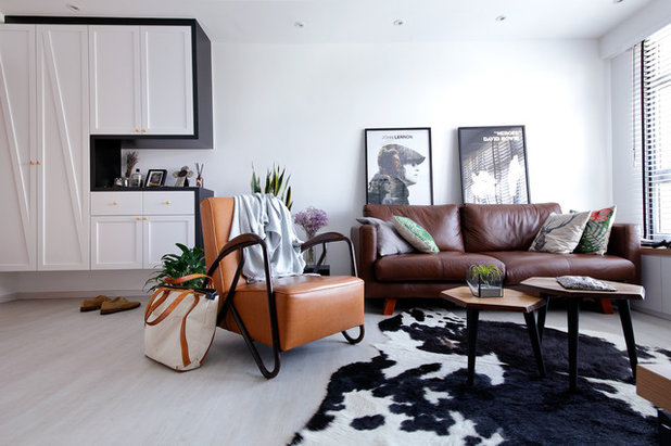 Scandinavian Living Room by Free Space Intent