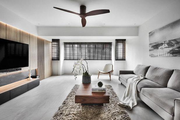 Contemporary Living Room by Icon Interior Design Pte Ltd