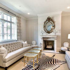 Transitional Living Room by Parker House Inc.