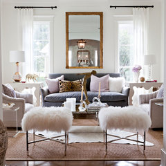 contemporary living room by Sally Wheat Interiors