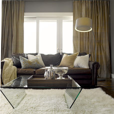 Eclectic Living Room by TANNA BY DESIGN