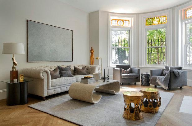Victorian Living Room by Tanya Capaldo Designs