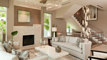 Tanzania Chandelier - Contemporary Living Room Stairwell Light Fixture