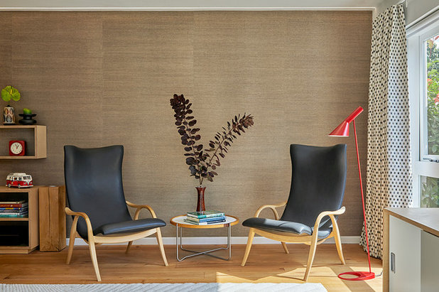 Retro Living Room by Slightly Quirky Ltd