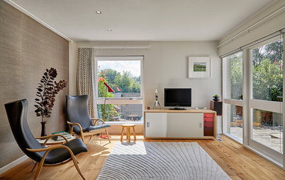 Houzz Tour: A 1960s House is Restored for 21st-century Living