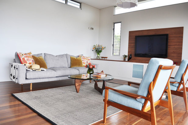 Midcentury Living Room by Greenwood's Home