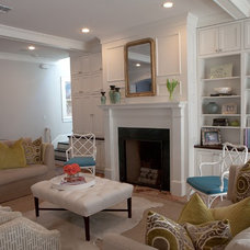 Traditional Living Room by RisherMartin Fine Homes