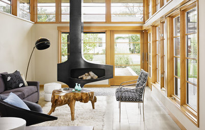 8 Fantastic Freestanding Fireplaces to Warm Any Room
