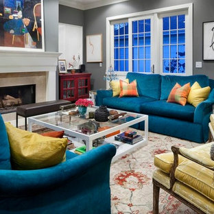 Peacock Blue Couches Houzz