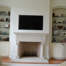Traditional Living Room by Jackson Cabinetry LLC