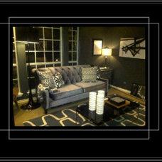 Contemporary Living Room by TD Design-Teel Daggs Design