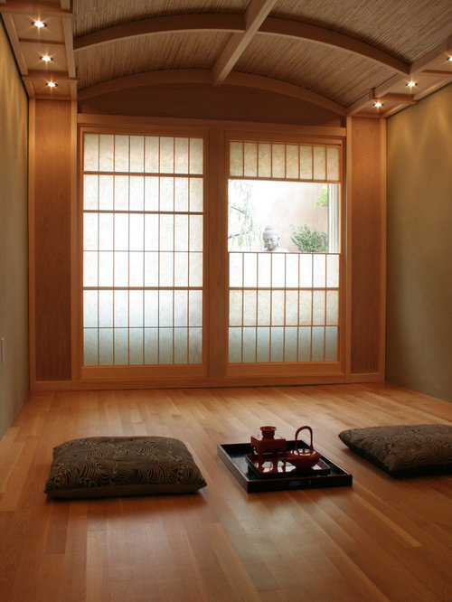 Japanese-themed Room | Houzz