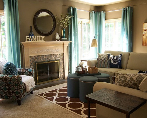 Taupe living room ideas pictures remodel and decor Taupe room ideas