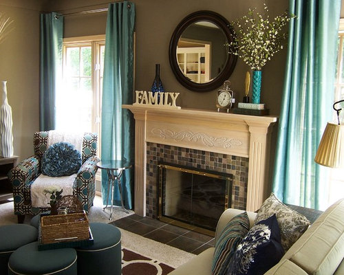 Taupe Living Room Home Design Ideas Pictures Remodel And