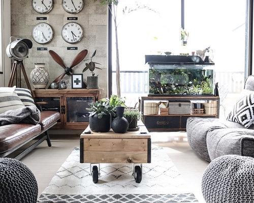 Living Home Zeitschrift 25 best industrial living room ideas remodeling photos houzz