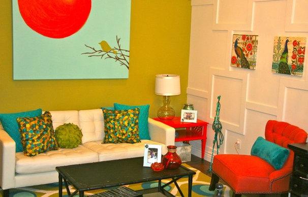 Mediterranean Living Room by SINGLEPOINT DESIGN BUILD INC.