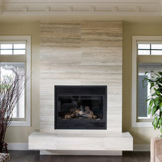 Contemporary Living Room by Tehama Homes