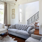 Dumbo Warehouse Transitional Living Room New York By Sheep Stone