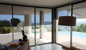 Temperature reducing blinds