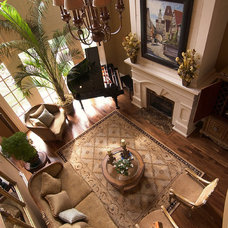 Traditional Living Room by Mitchell Barnett Architect, PC